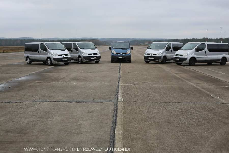 transport paczek Koszalin Holandia